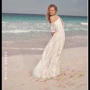BHLDN Wylie wedding dress like new